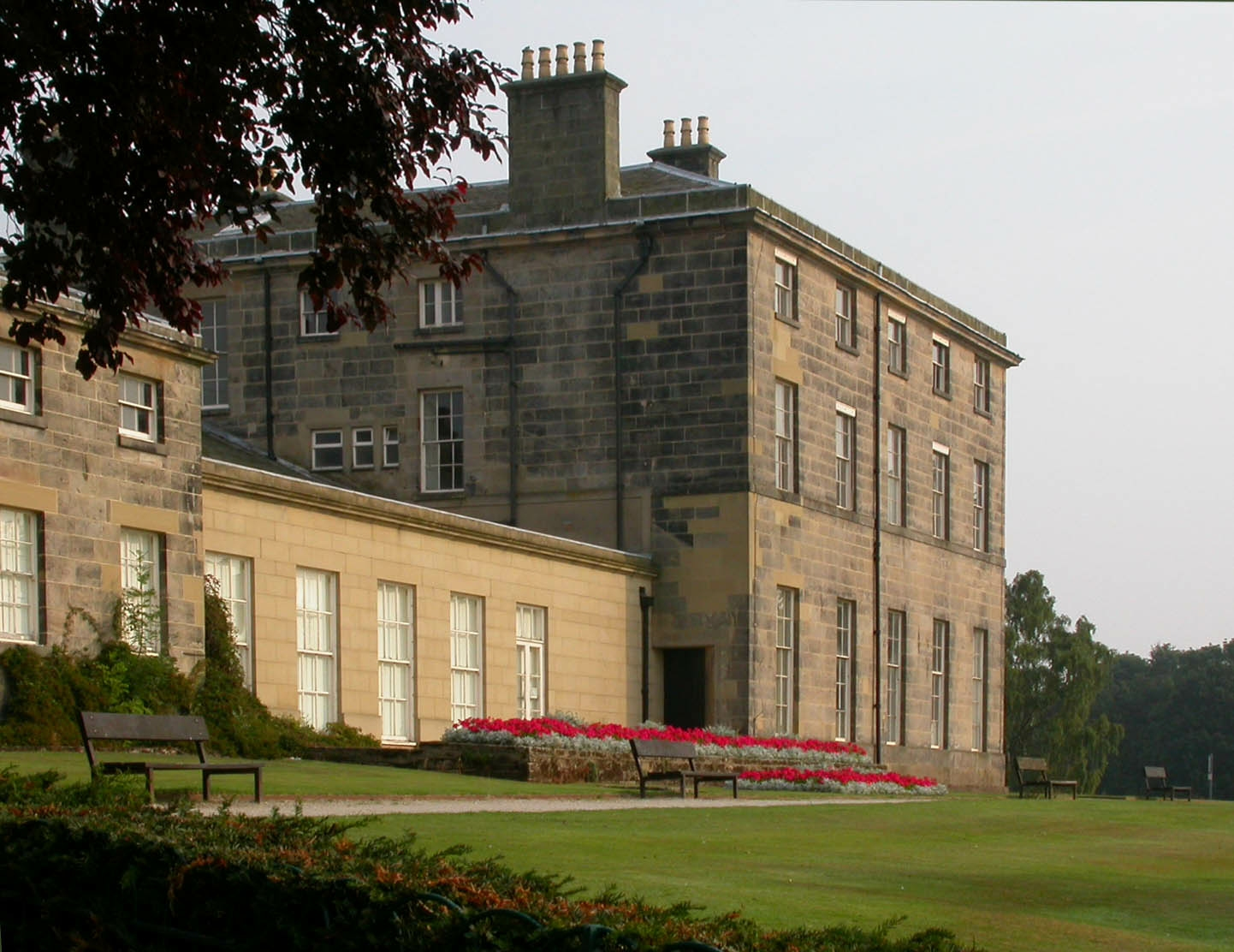 Allestree Hall from gardens 2003.08
