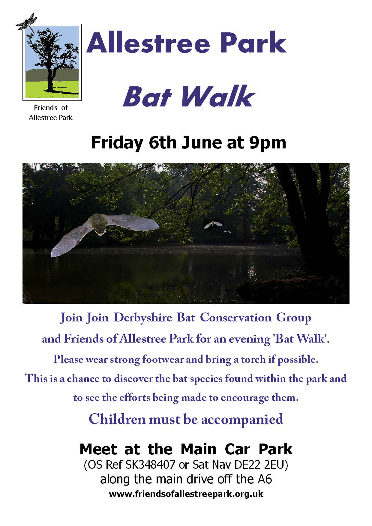 bat walk poster june 2014